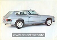 Reliant Scimitar GTE Brochure