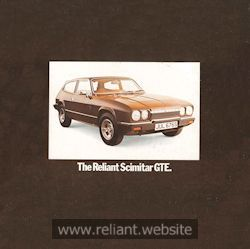 Reliant Brochure Catalog
