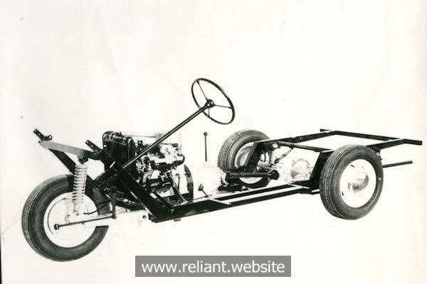 Reliant Regal 3/30 chassis