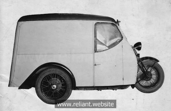 Austin 7 powered Reliant 10cwt