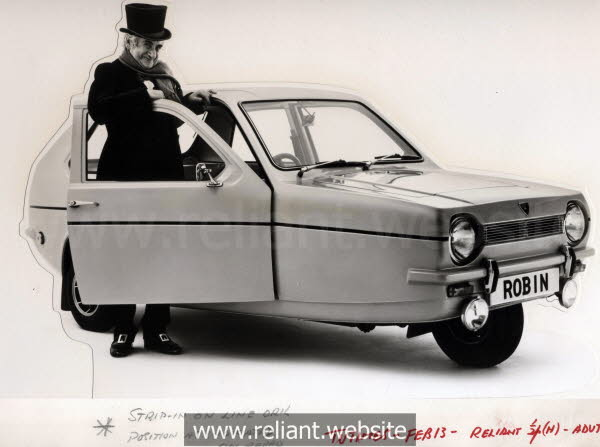 Reliant Robin and Scrooge