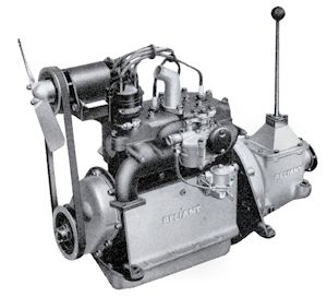 Reliant 750cc side-valve engine