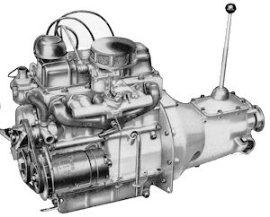 Reliant 600cc OHV engine