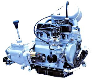 Reliant 850cc OHV engine
