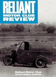 Reliant Motor Club Magazine Edition 1