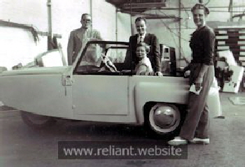 First Regal production car 1952